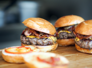 Burgers Are Full Of Saturated Fats