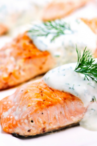 Try Salmon Instead of Fatty Meats